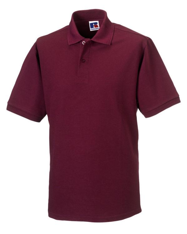 t-shirt burgundy