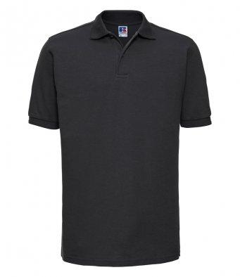 black work polo shirt