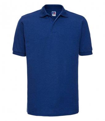bright royal work polo shirt