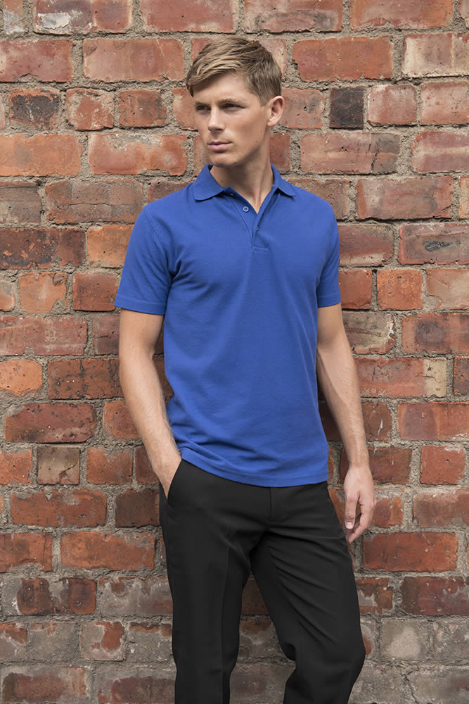 cheap Polo Shirt blue