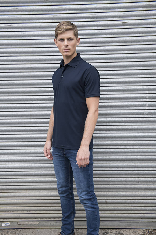 cheap Polo Shirt navy