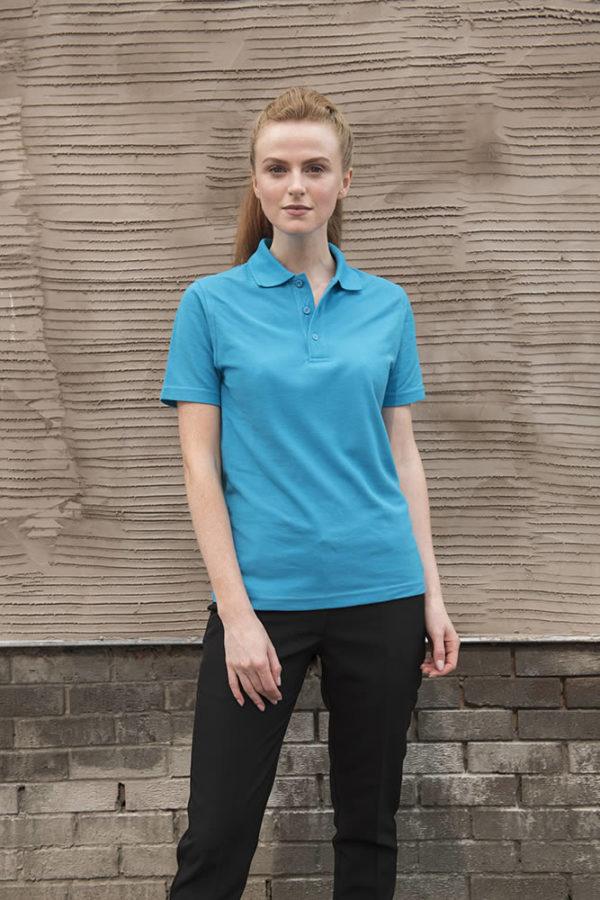 cheap Polo Shirt sapphireblue front