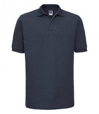 french navy work polo shirt