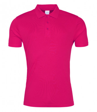 hotpink sports polo