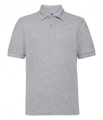 light oxford work polo shirt