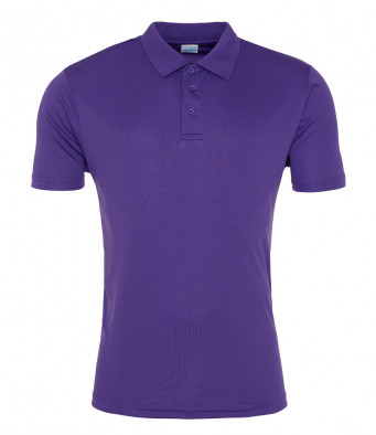 purple sports polo
