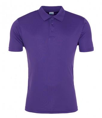 purple sports polo