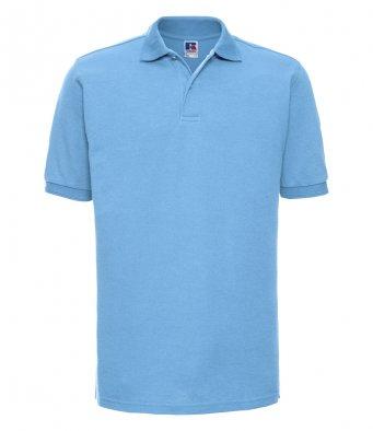 sky work polo shirt