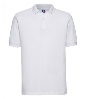 white work polo shirt
