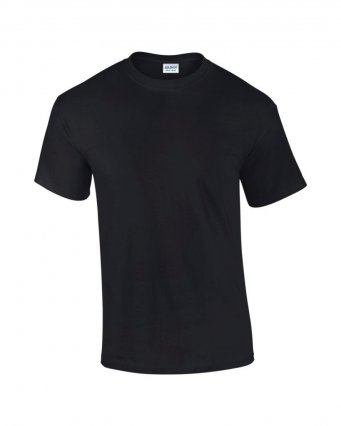 100 cotton black t shirt