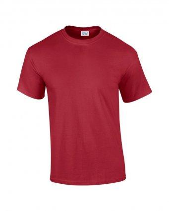 100 cotton cardinal red t shirt