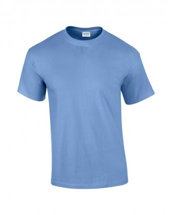 100 cotton carolina blue t shirt