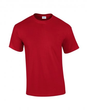 100 cotton cherry red t shirt