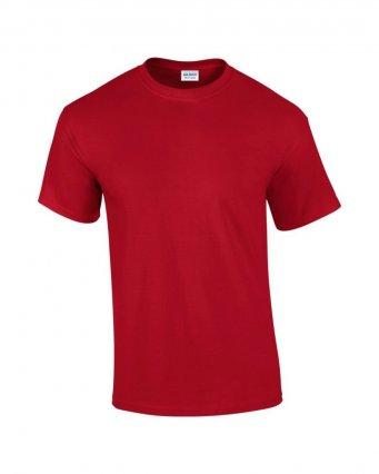 100 cotton cherry red t shirt