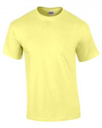 100 cotton cornsilk t shirt