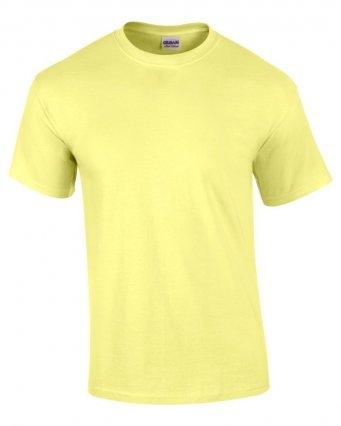 100 cotton cornsilk t shirt