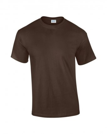100 cotton dark chocolate t shirt