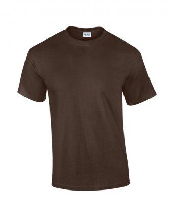100 cotton dark chocolate t shirt