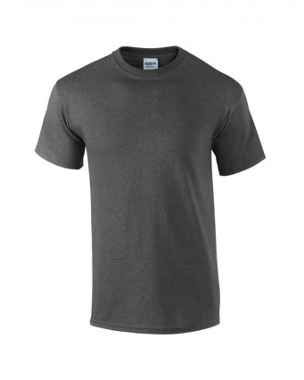 100 cotton dark heather t shirt