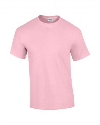 100 cotton l pink t shirt