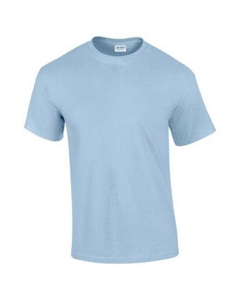 100 cotton light blue t shirt
