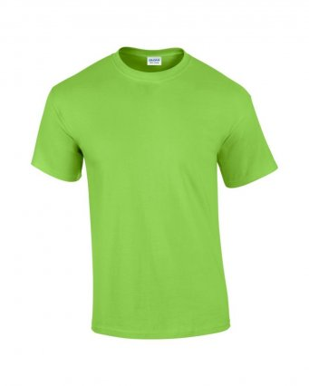 100 cotton lime t shirt