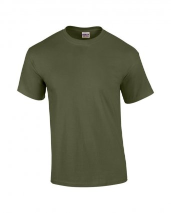 100 cotton military green t shirt
