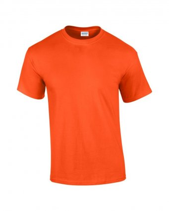 100 cotton orange t shirt