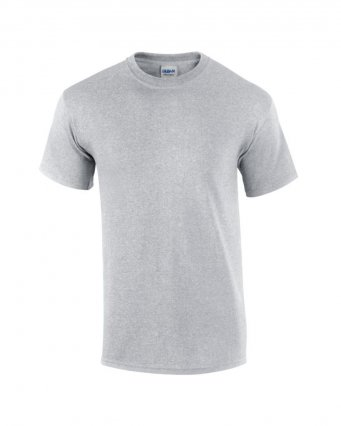 100 cotton sport grey t shirt