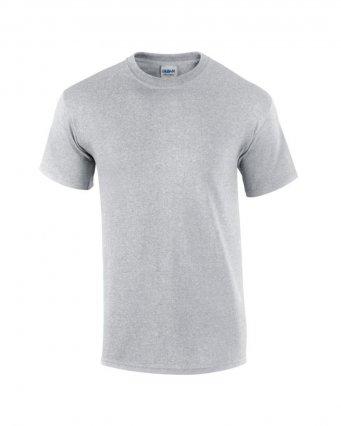 100 cotton sport grey t shirt