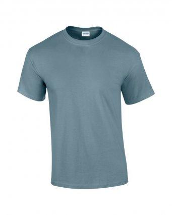 100 cotton stone blue t shirt