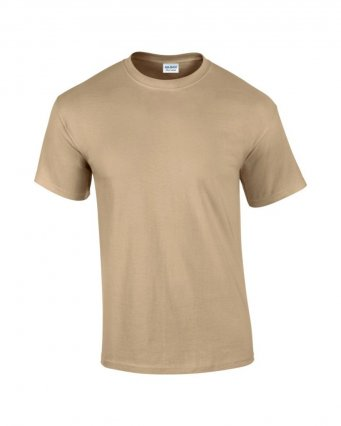 100 cotton tan t shirt