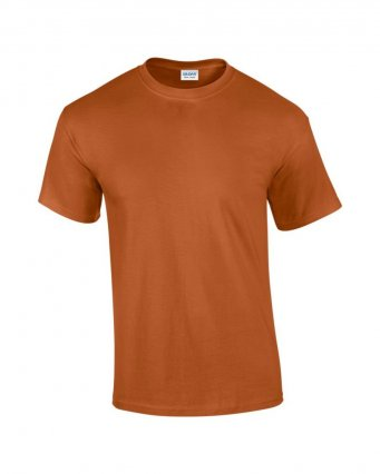 100 cotton texas orange t shirt