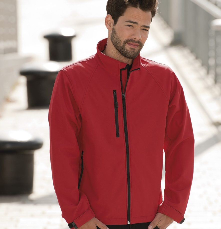 140M soft shell jacket