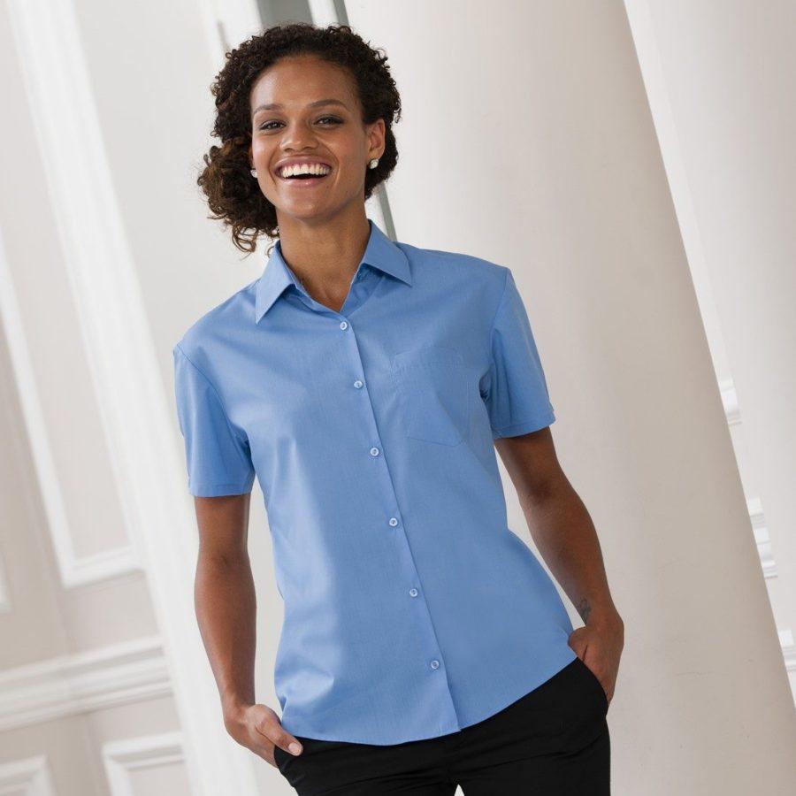935f short sleeve poplin shirt