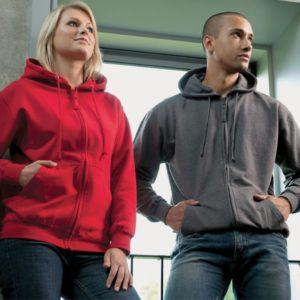 JH050 zipped hoodies