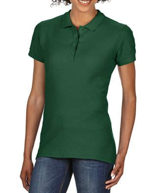 Ladies forest 100 cotton polo