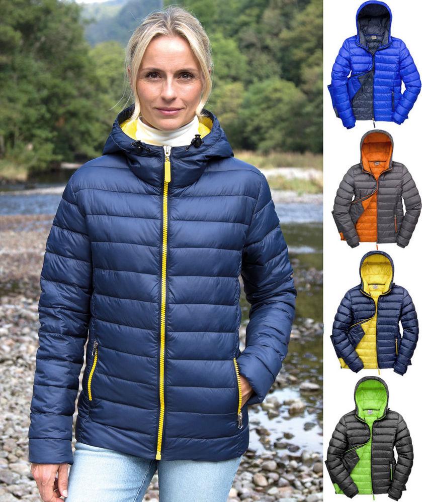 RS194F ladies padded coat