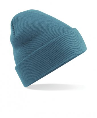 airforce blue cuffed beanie