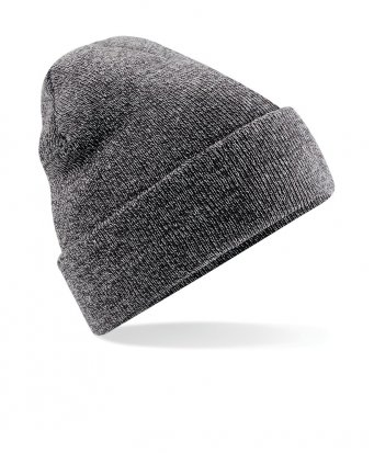antique grey cuffed beanie
