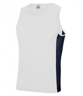 arc white french navy vest