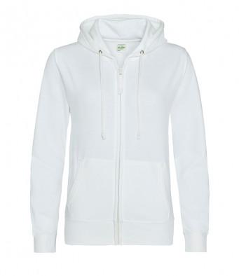 arctic white ladies hoodie