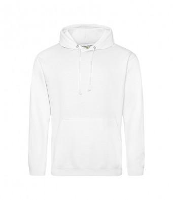 arctic white overhead college hoodies