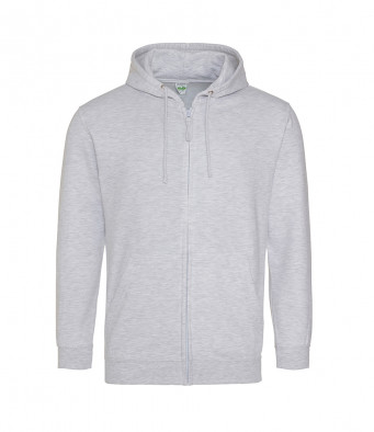 ash zipped hoodie
