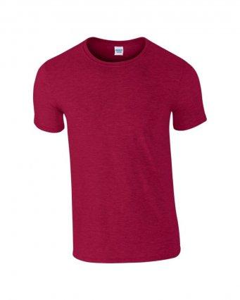 basic t shirt antique cherry red