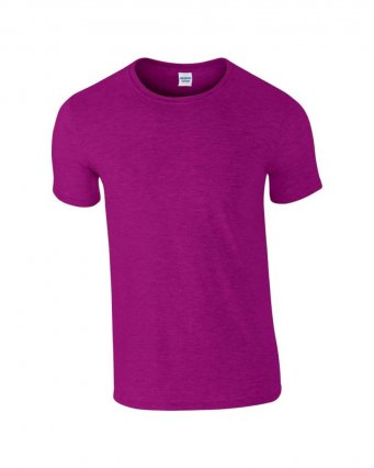 basic t shirt antique heliconia