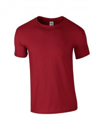 basic t shirt cardinal red