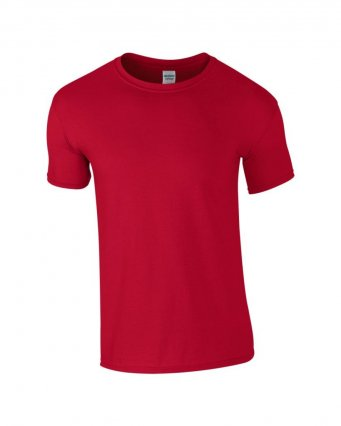 basic t shirt cherry red