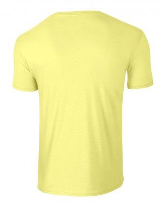 basic t shirt cornsilk