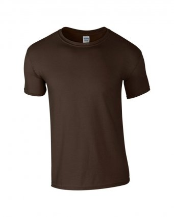 basic t shirt dark choc